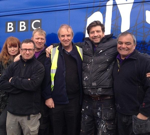 BBC DIY SOS and Harmony team up