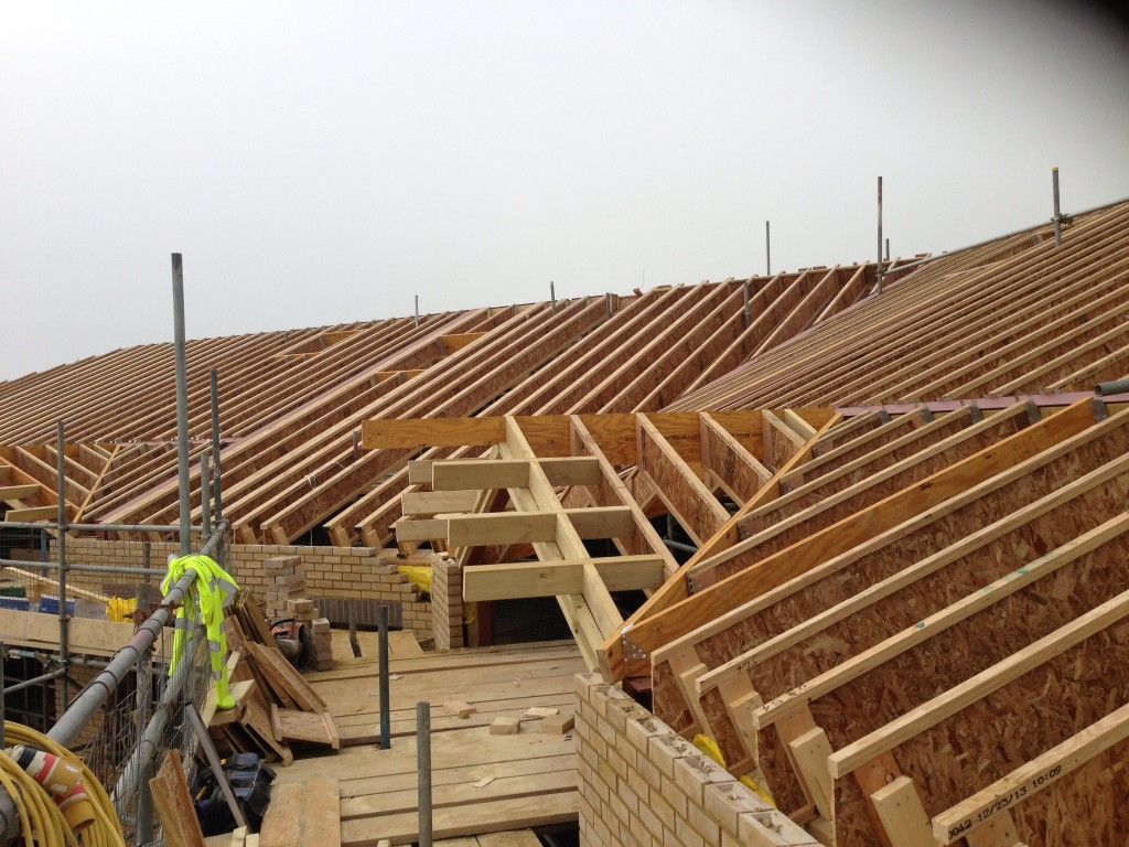 I joist roof ashford kent harmony timber solutions for Roof joists prices