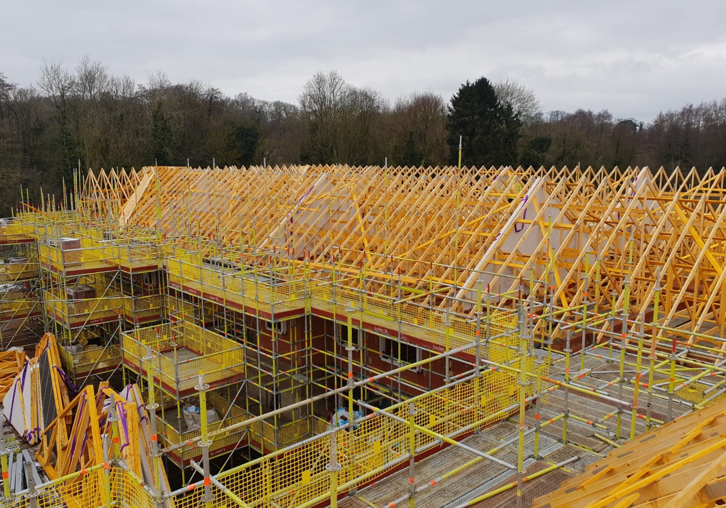 Harmony Timber Solutions UK - Amersham - Buckinghamshire - Roof Truss - Trusses - Timber Engineer - Engineering - Supplier - Kent